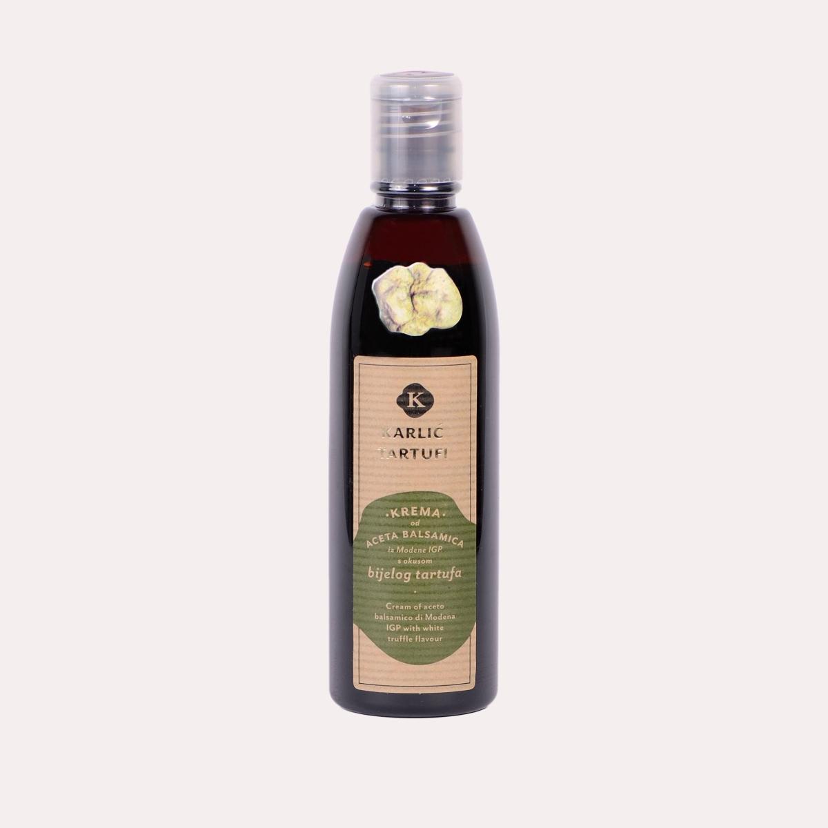 Balsamico-Essigcreme mit dem Geschmack von weißen Trüffeln